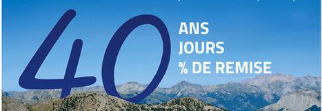 Des promotions pour les 40 ans de Vacances ULVF | Actu Tourisme | Scoop.it