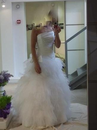 Robe de mariage Cymbeline Fauvette d'occasion avec jupon et housse | Samoura | Scoop.it
