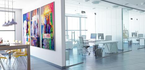 Nouveaux aménagements et digitalisation des espaces : deux tendances qui dessinent l'environnement de travail de demain | Aménagement des espaces de vie | Scoop.it