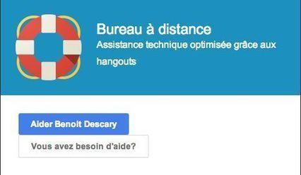 Prenez le contrôle d'un ordinateur distant depuis un Hangout [Google+] | techniques et astuces web | Scoop.it