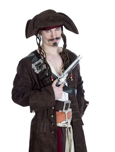 Mens Rum Smuggler Pirate Fancy Dress Costume | Fancy Dress Ideas | Scoop.it