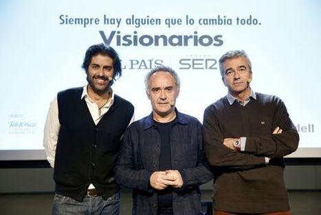 """Ferran Adrià: """"La creatividad es buscarse la vida"""" - El País.com (España)   Alberto Isern Sabadi   Scoop.it"""