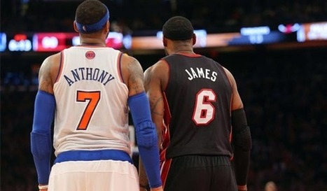 Report: Suns looking to emerge as destination for LeBron, Carmelo   NBA News and Notes   Scoop.it