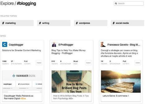 Come selezionare e organizzare le fonti del blog | I nodi della rete | Scoop.it