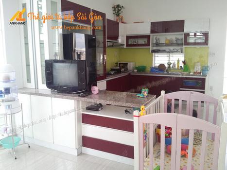 Tủ bếp chữ U nhà anh HẢO TBAK358 | Tủ bếp, Bếp An Khang tạo dấu ấn cho ngôi nhà VIỆT 0839798355 | Scoop.it