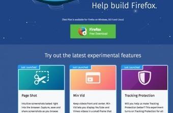 Trois expériences à faire avec Firefox ce week-end   Freewares   Scoop.it