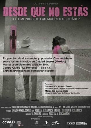 2 dic: Estreno del documental DESDE QUE NO ESTÁS / B. Rondilla   Mexicanos en Castilla y Leon   Scoop.it