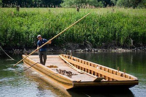 Una réplica de una barcaza romana | Mundo Clásico | Scoop.it