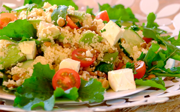 Summer Avo, Feta and Cous Cous Salad | ♨ Family & Food ♨ | Scoop.it