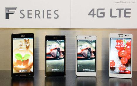 LG announces Optimus F7 and F5 LTE Smartphones | WorldGeek | Scoop.it