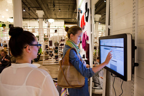 Shopping Sites Open Brick-and-Mortar Stores | Retail Design and Technology | Scoop.it
