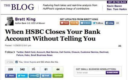 My Social Media brawl with HSBC | Social Media Engagement for Financial Services | Scoop.it