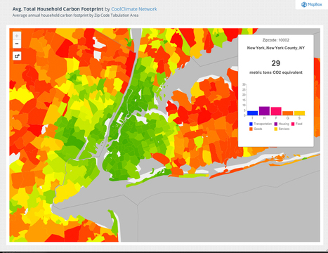 Suburban sprawl cancels carbon footprint savings of dense urban cores | Unit 7 (Urban Development) | Scoop.it