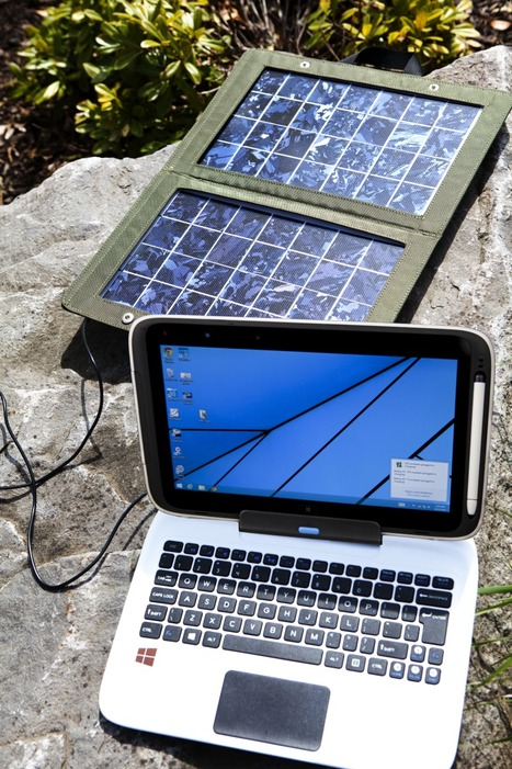 Plugging Laptops into the Sun with a Smart Solar Charger | Intel Free Press | Scoop.it