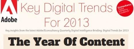 [Infographie] Marketing : quelles tendances vont marquer l'année 2013 ? - FrenchWeb.fr | e-Marketing & e-Commerce -> Etudes et chiffres-clés | Scoop.it