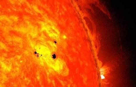 Una colosal mancha solar   Reflejos   Scoop.it