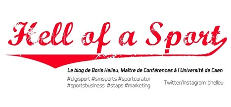 Hell of a Sport: La digitalisation de la consommation de sport | studies, indicators, bench and trends | Scoop.it