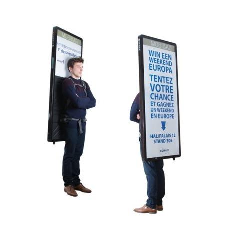 Digitale reclame op je rug - Blokboek - Communication Nieuws | BlokBoek e-zine | Scoop.it