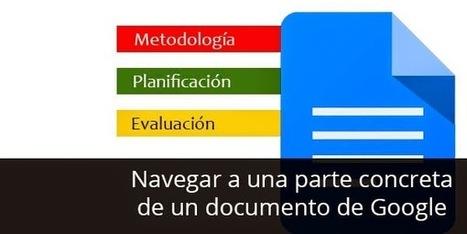Pon en marcha los diarios de aprendizaje con Google Docs | Lectura, TIC y Bibliotecas | Scoop.it