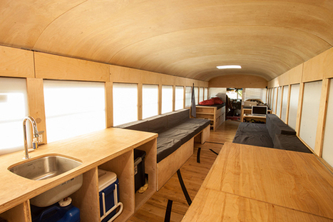 Architecture Student Transforms a School Bus Into a Mobile House | Visioning for Business | Scoop.it