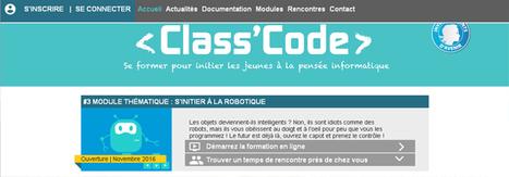 Le #3 Module thématique : s'initier à la robotique est ouvert @classcode_fr #EcoleNumerique | Veille Technologique | Scoop.it