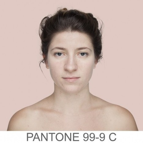 Every Human has a Pantone Color, and Angelica Dass is Finding All of Them | Wired to think in pictures... | Scoop.it