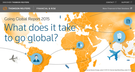 What does it take to go global - Thomson Reuters report   Strategy and Competitive Intelligence by Bonnie Hohhof   Scoop.it