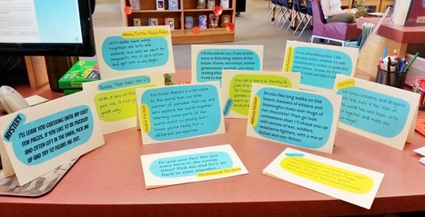 6th Grade Speed Dating Genres | Creativity in the School Library | Scoop.it