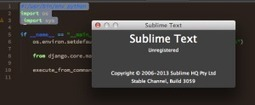 Sublime Text 3 for Python, JavaScript and web developers | web developer tips | Scoop.it
