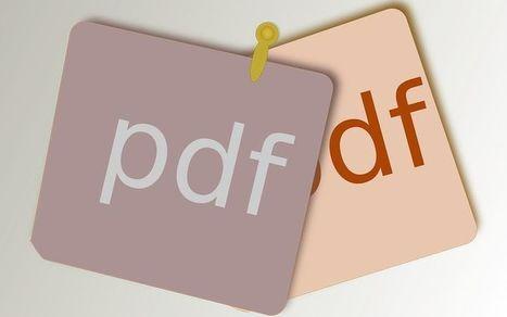 Editar documentos PDF: 7 herramientas web gratuitas | Recursos didácticos y materiales para la formación del profesorado. Servicio de Innovación y Formación del Profesorado | Scoop.it
