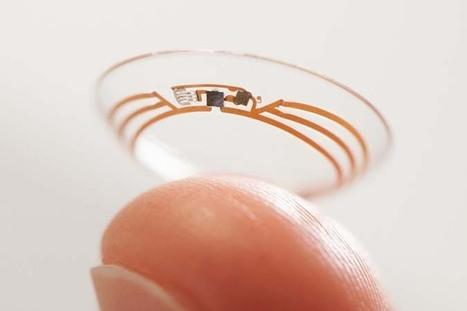 Diabète, presbytie... Google et Novartis partenaires pour les lentilles intelligentes | Communication #Web & Réseaux Sociaux | Scoop.it
