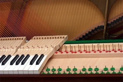 Buzz Blog: Hearing the Pianist's Fingers: The Importance of Touch in Piano Music | music acoustics | Scoop.it