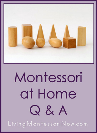 Montessori Monday – Montessori at Home Q&A | Montessori Inspired | Scoop.it