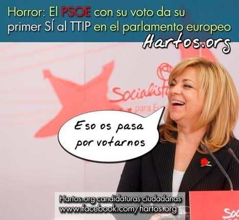 El PSOE no puede PROMETER que mantendrá el ESTADO de BIENESTAR si VOTA al TTIP y no se enfrenta a la TROIKA | @CNA_ALTERNEWS | La R-Evolución de ARMAK | Scoop.it