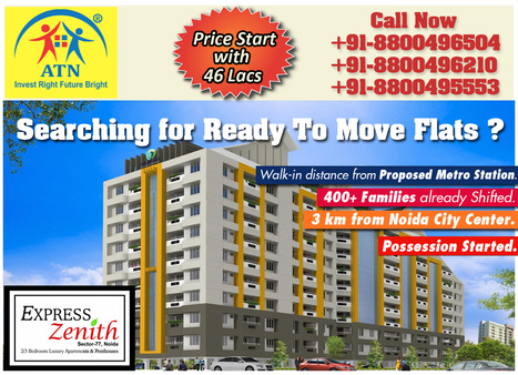 Book Your Dream Home with Express Zenith Noida | Residential Projects in Noida | Scoop.it