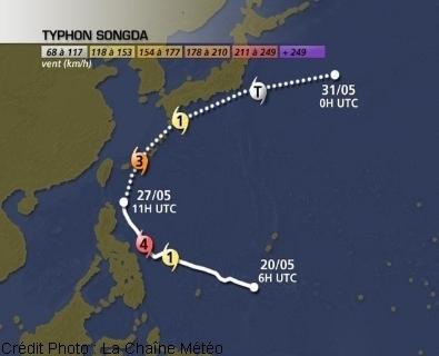 Fukushima : baisse de régime du typhon Songda | Lachainemétéo.com | Japon : séisme, tsunami & conséquences | Scoop.it