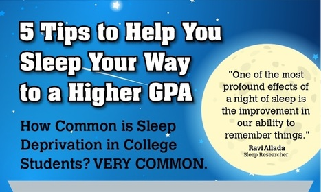 Getting Enough Sleep is Vital to Academic Success (Infographic) | Professional Learning for Busy Educators | Scoop.it