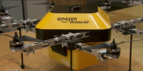 Amazon Is Experimenting With Autonomous Flying Delivery Drones | Social Foraging | Scoop.it