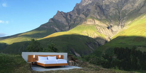 This Magical Hotel Is the Only Way to Experience the Swiss Alps | Mountain huts | Scoop.it