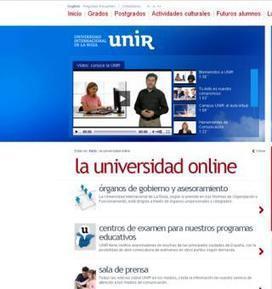 La Universidad Internacional de La Rioja lanza un sistema de formación 'on line' gratuito | Madres de Día Pamplona | Scoop.it