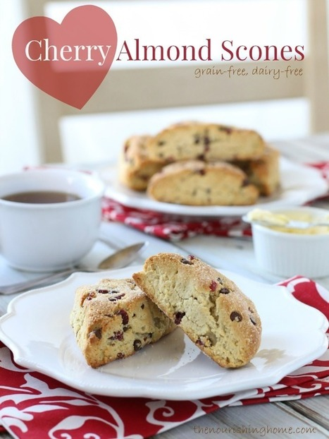 Cherry Chocolate Chip Scones | Healthy Lifestyles .. Informational Purposes | Scoop.it
