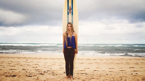 Emily Erickson makes a name for herself on Oahu's North Shore - X Games | SURFING | Scoop.it
