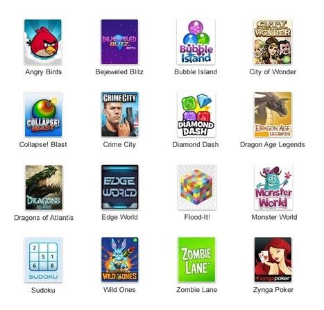 Google+ Games : les jeux arrivent dans Google+ | SocialWebBusiness | Scoop.it