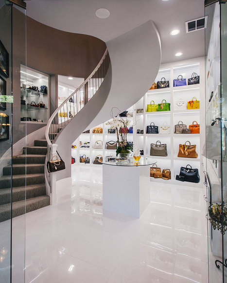 What Does A $500,000 Closet Look Like?   World Luxury   Scoop.it