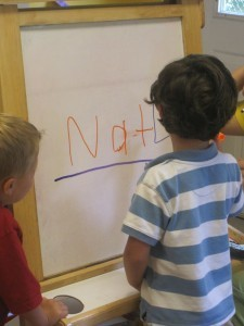 A simple name writing activity to do with preschoolers | Teach Preschool | Scoop.it
