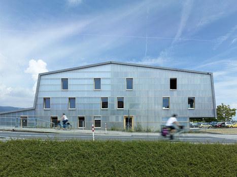 bunq architectes clads multipurpose building in polycarbonate | Window and Interior Designs | Scoop.it