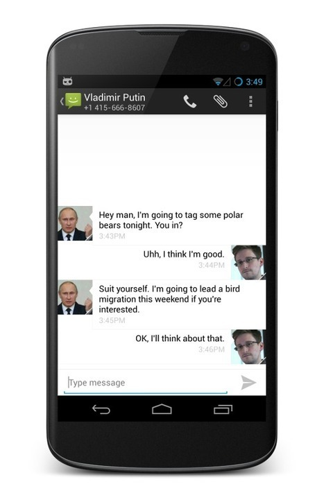 Ten Million More Android Users' Text Messages Will Soon Be Encrypted By Default - Forbes | Common technically random thoughts | Scoop.it