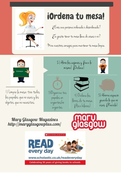 Clean off Your Desk Day and the Imperative for Year 11 | ELE Spanish as a second language | Scoop.it