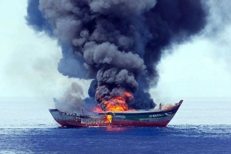 Vietnamese poachers warned as Palau burns their boats | Wildlife Trafficking: Who Does it? Allows it? | Scoop.it