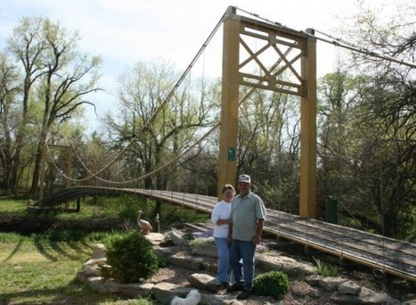 Kansas Man Builds Golden Gate Bridge Replica in His Backyard   Strange days indeed...   Scoop.it